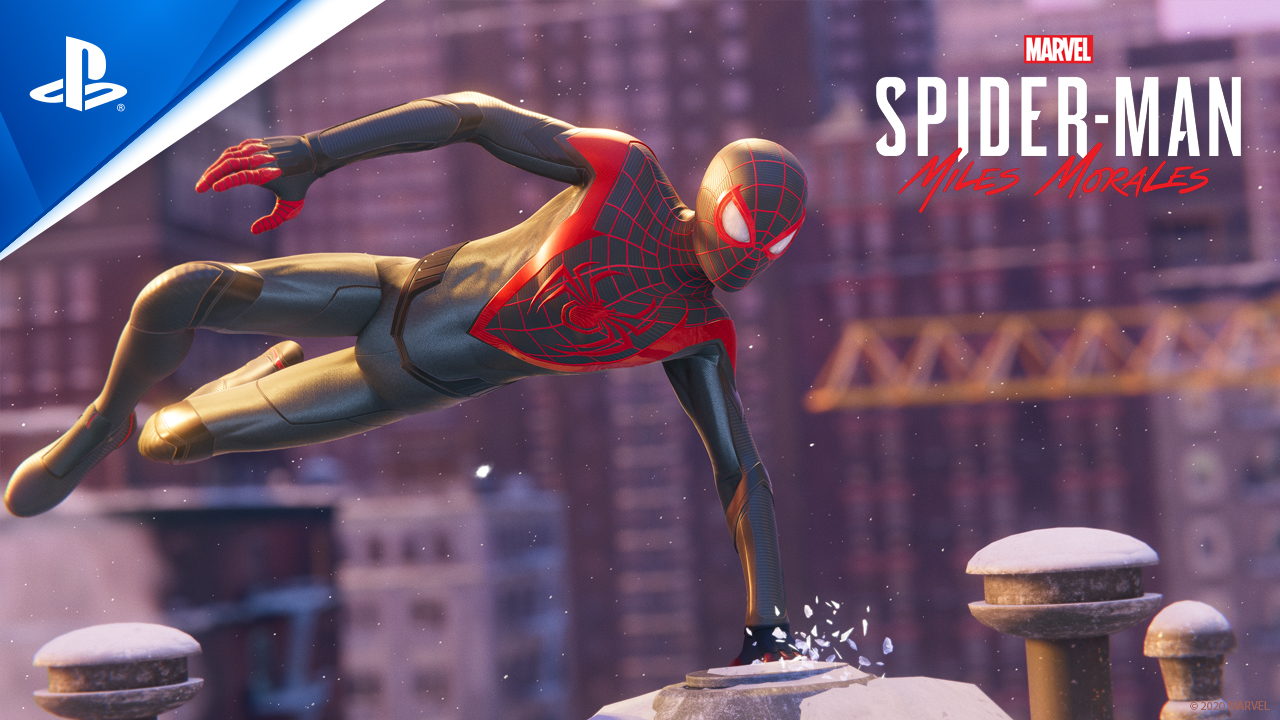 """""""PS5""""・""""PS4""""用ソフト『Marvel's Spider-Man Miles Morales』 (C) 2020 MARVEL (C)Sony Interactive Entertainment LLC. Created and developed by Insomniac Games, Inc."""