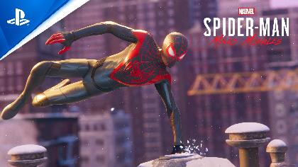 """日本語ボイスは勝 杏里、興津和幸、高木 渉、平野 綾など""""PS5""""・""""PS4""""用ソフト『Marvel's Spider-Man Miles Morales』ローンチトレーラー&出演声優公開"""
