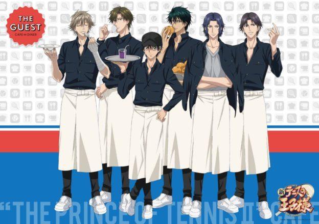 アニメ『新テニスの王子様』とのコラボカフェが大阪・心斎橋にて開催