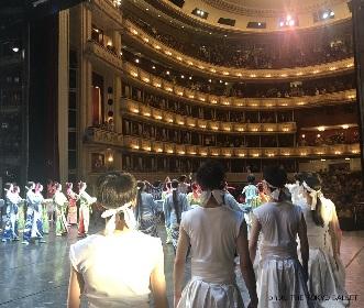 東京バレエ団がウィーン国立歌劇場に出演 バレエ版「仮名手本忠臣蔵」で討ち入り