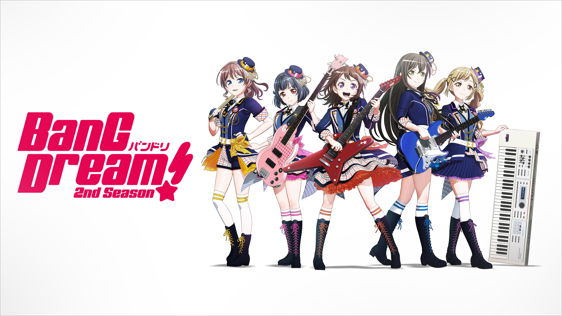 『BanG Dream! 2nd Season』キービジュアル (C)BanG Dream! Project