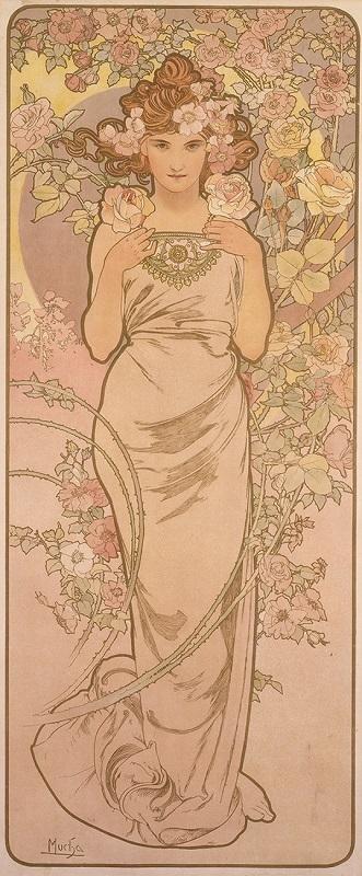 《四つの花「バラ」》 1897年 堺市