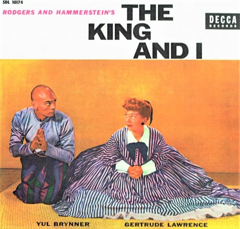 『王様と私』初演(1951年)のオリジナル・キャストLP