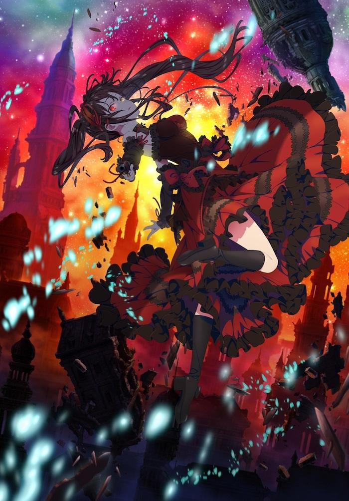 「デート・ア・バレット」 前編『デッド・オア・バレット』キービジュアル (C)2020 東出祐一郎・橘公司・NOCO/KADOKAWA/「デート・ア・バレット」製作委員会