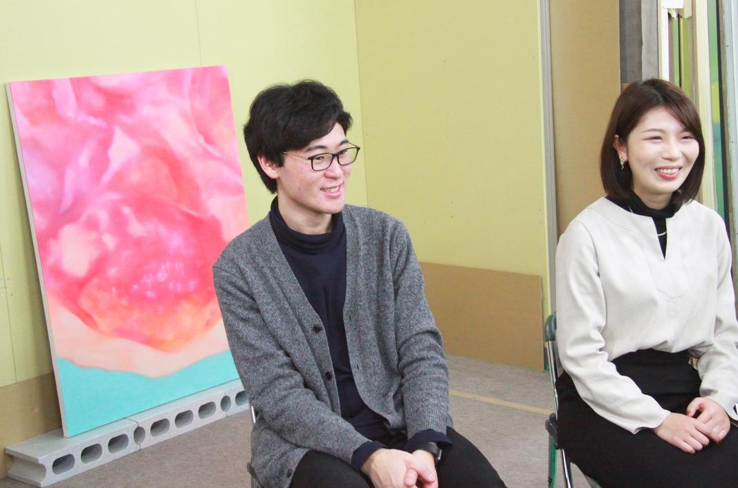 (左から)内藤和音、高橋和佳奈