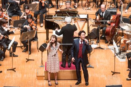 May J.が「Let It Go」を、中井智彦が「美女と野獣」を東京交響楽団の生演奏で熱唱~『オーケストラで楽しむ映画音楽IX』レポート