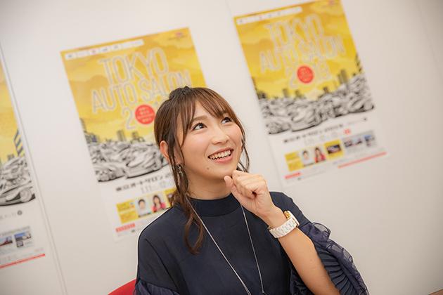 『日本レースクイーン大賞2018』でMCを務める渡辺順子さん