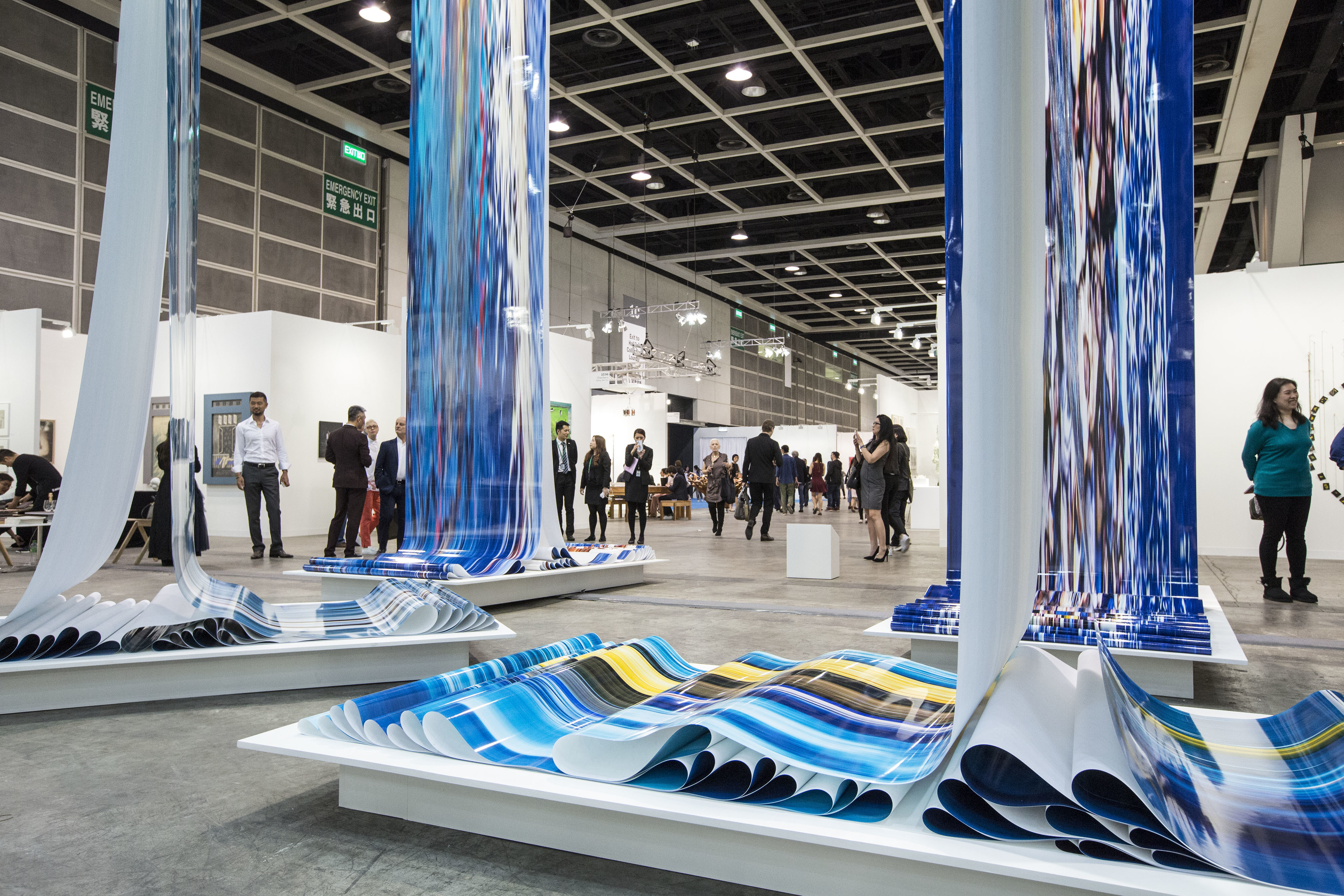 「第5回アート・バーゼル香港」(2017)の様子  (c)Art Basel