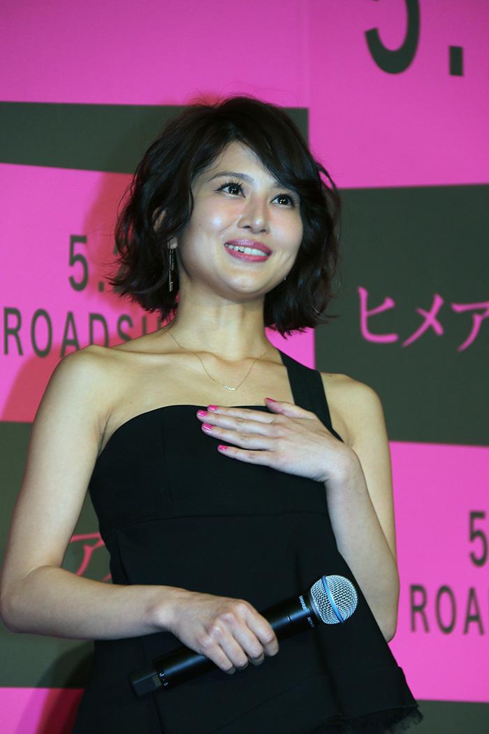 佐津川愛美はネイルとヒールをピンク色に! 映画「ヒメアノ~ル」
