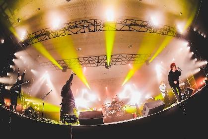 ROTTENGRAFFTY『START UP!!-ロックの春2021-』ライブレポートーーロックの未来を担うヘドバンがフロアを埋めつくす