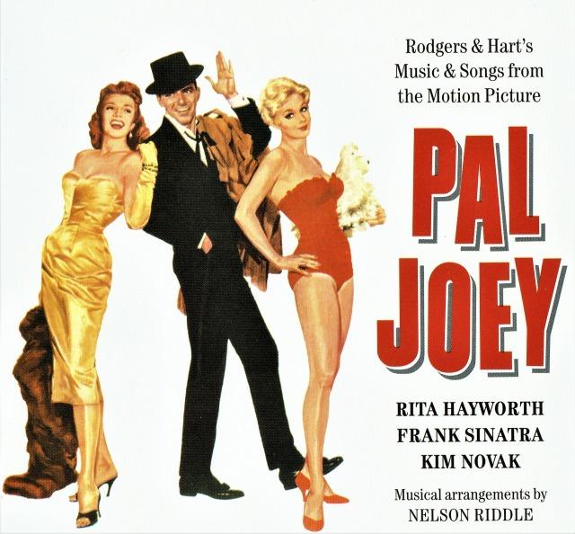 「夜の豹」(1957年)のサントラCD。シナトラ終生の十八番となった〈ザ・レイディ・イズ・ア・トランプ〉など、他のロジャーズ&ハート作品の曲も使われている(輸入盤)。