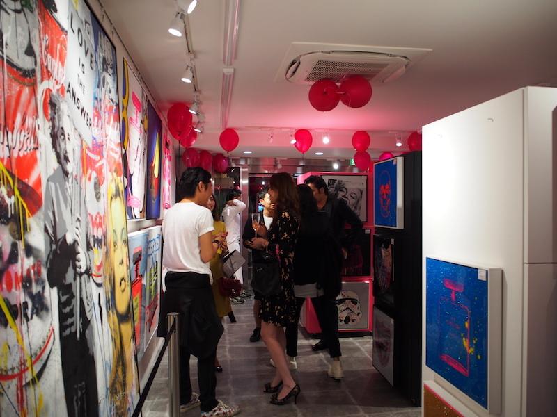 『NEW YORK GALLERY OSAKA』オープニングパーティー風景