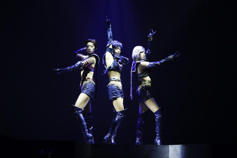スリーライツ (C)武内直子・PNP/ミュージカル「美少女戦士セーラームーン」製作委員会2017