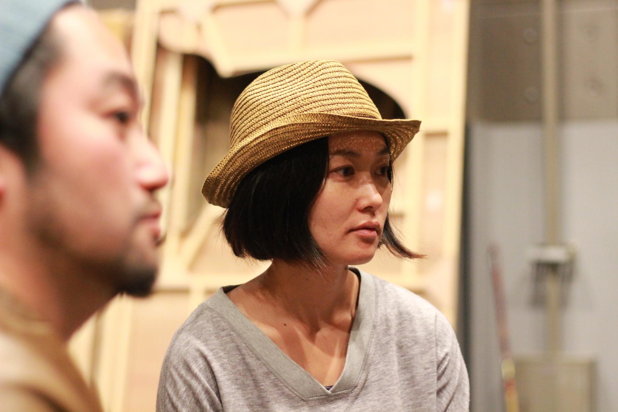 舞台美術家の稲田美智子