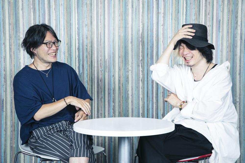 松原裕(パインフィールズ、610)×KAZUOMI(ROTTENGRAFFTY)
