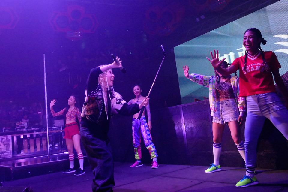 加藤ミリヤ『ageHa NEW YEARS PARTY Day1 feat. agePa!! Official Media by modelpress』