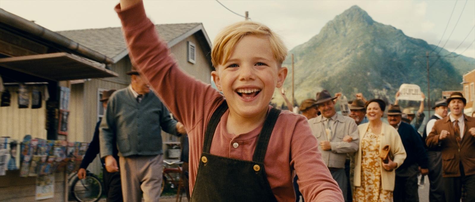 ペッパー(リトルボーイ)役/ジェイコブ・サルヴァーティ (C)2014 Little Boy Production, LLC.All Rights Reserved.