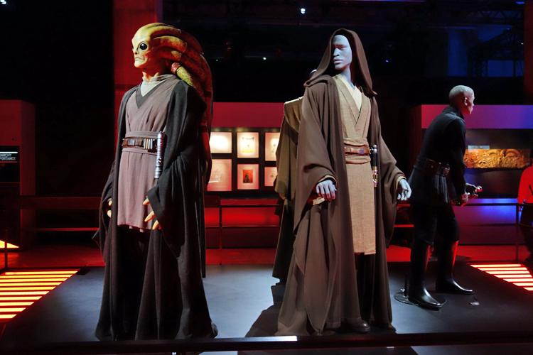 善の実行者とされるジェダイたち。左:キット・フィストー 右:メイス・ウィンドゥ