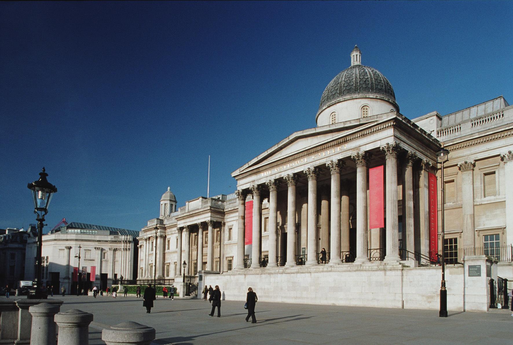 ロンドン・ナショナル・ギャラリー外観 Photo: Phil Sayer