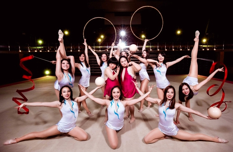 おかずクラブ、東京女子体育大学・新体操競技部
