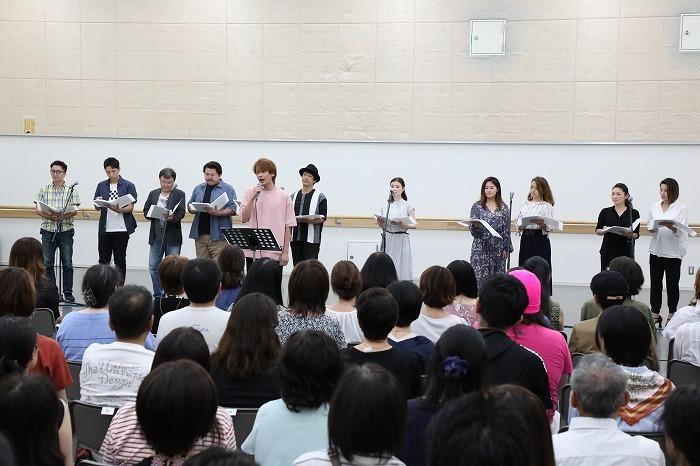ミュージカル『生きる』お披露目イベント