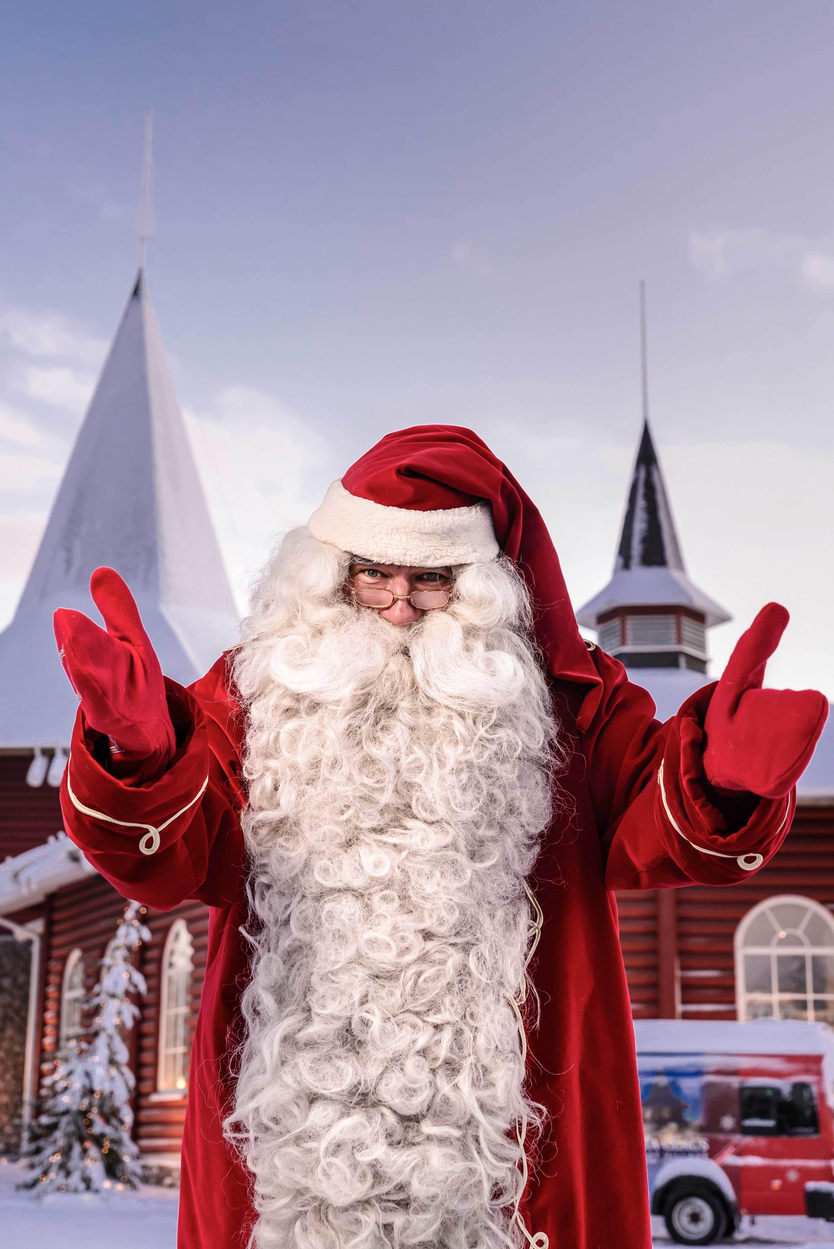 公認サンタクロース来日
