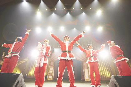 アルスマグナ、サンタに扮しひと足早いクリスマス 新曲も初披露