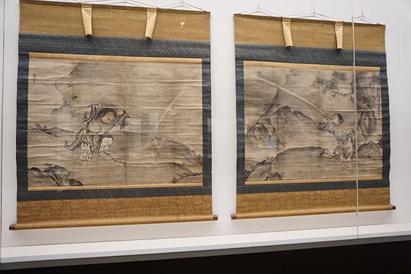 雪村周継《蝦蟇鉄拐図》(東京国立博物館蔵、3月28日~4月23日展示)