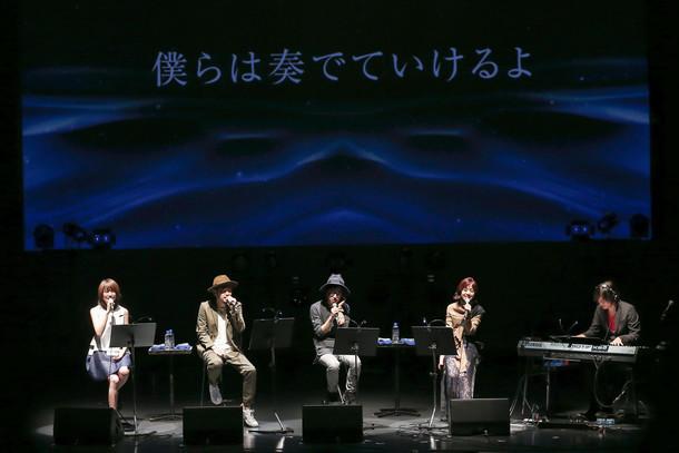 「InterFM897開局記念~897 Sessions~」の様子。(撮影:藤井拓)
