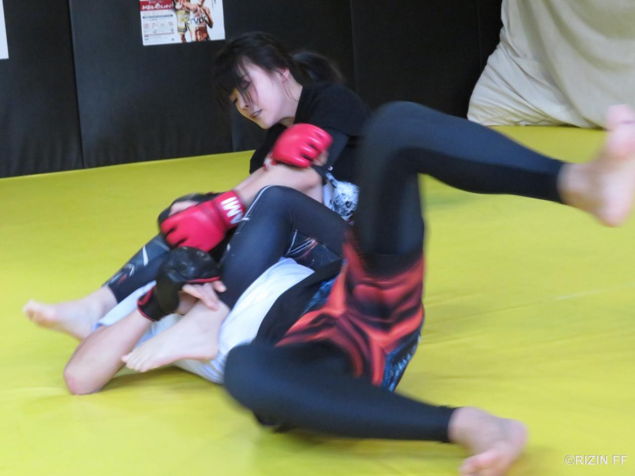 川村の練習風景