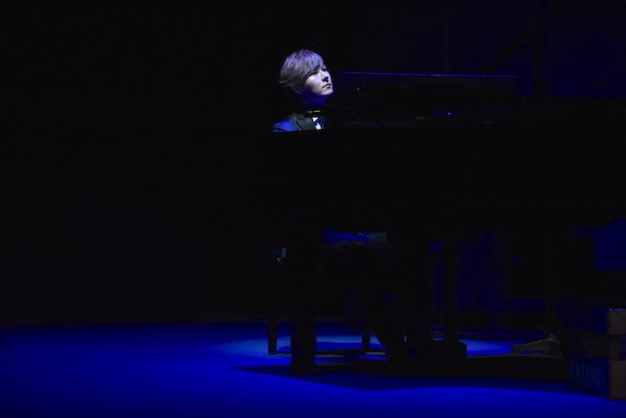 音楽劇『海の上のピアニスト』ゲネプロの様子  (C)2021.海の上のピアニスト(撮影:五月女菜穂)