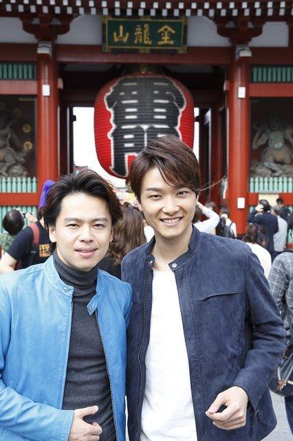 (左から)中川晃教、井上芳雄