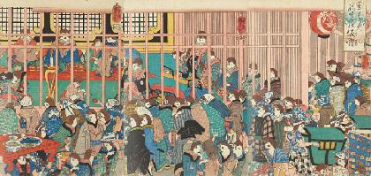 国芳、北斎、暁斎らが描いた猫や珍獣が集合 『浮世絵動物園』に約160点