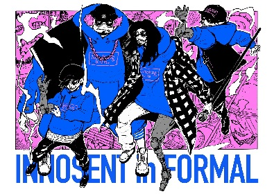 INNOSENT in FORMAL、TVアニメ『池袋ウエストゲートパーク』新ED主題歌「思うまま」MV公開&メジャー1stミニアルバム発売決定
