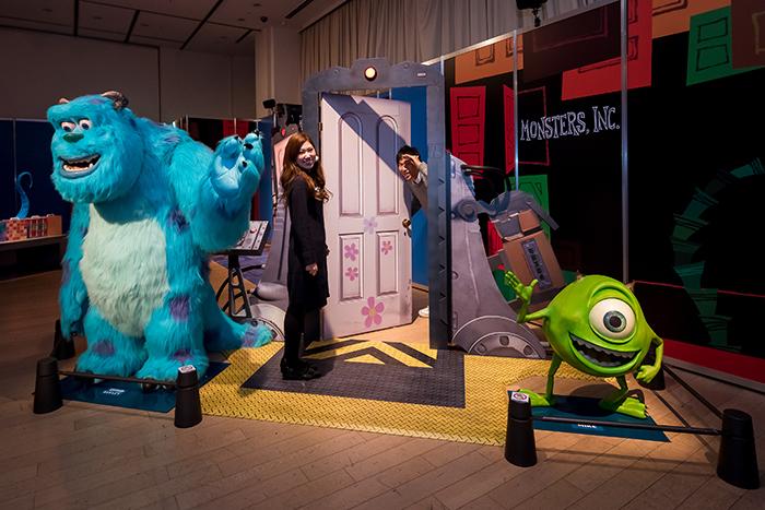 モンスターズ・インク ©Disney/Pixar