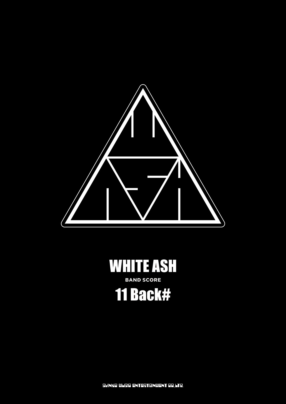 WHITE ASH BAND SCORE「11 Back#」