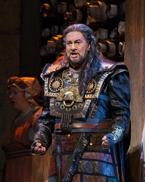 『ナブッコ』プラシド・ドミンゴ ⒸMarty Sohl/Metropolitan Opera