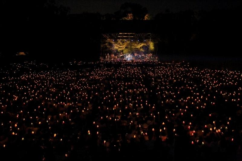 『第31回JTB世界遺産劇場 奈良春日大社 第六十次式年造替奉祝 Misia Candle Night Live』 撮影=田中雅也