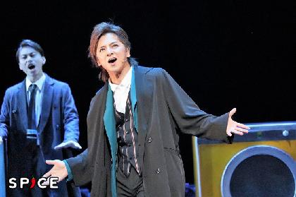 ミュージカル『ソーホー・シンダーズ』開幕!林翔太の仔犬感に松岡充「ヤバイ!長野博の上を行っている!」とメロメロ
