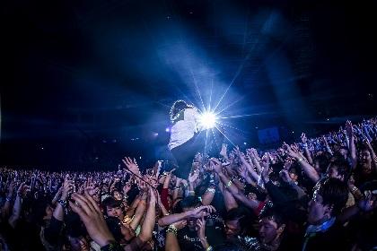 【G-FREAK FACTORY・山人音楽祭 2019】満を持して登場した山人の盟主 会場全体で鳴らし歌ったライブで初日を締めくくり