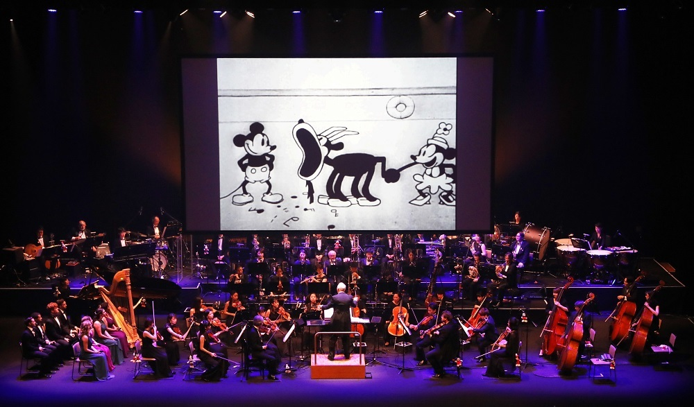 『蒸気船ウィリー』 Presentation licensed by Disney Concerts. (c) Disney (C)1928 Disney