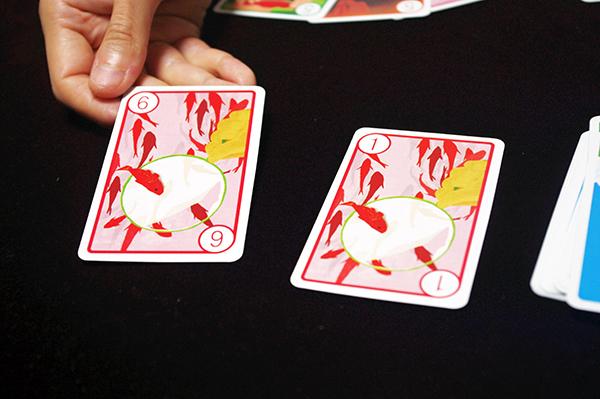 同じ絵柄のカードをめくってしまうと......