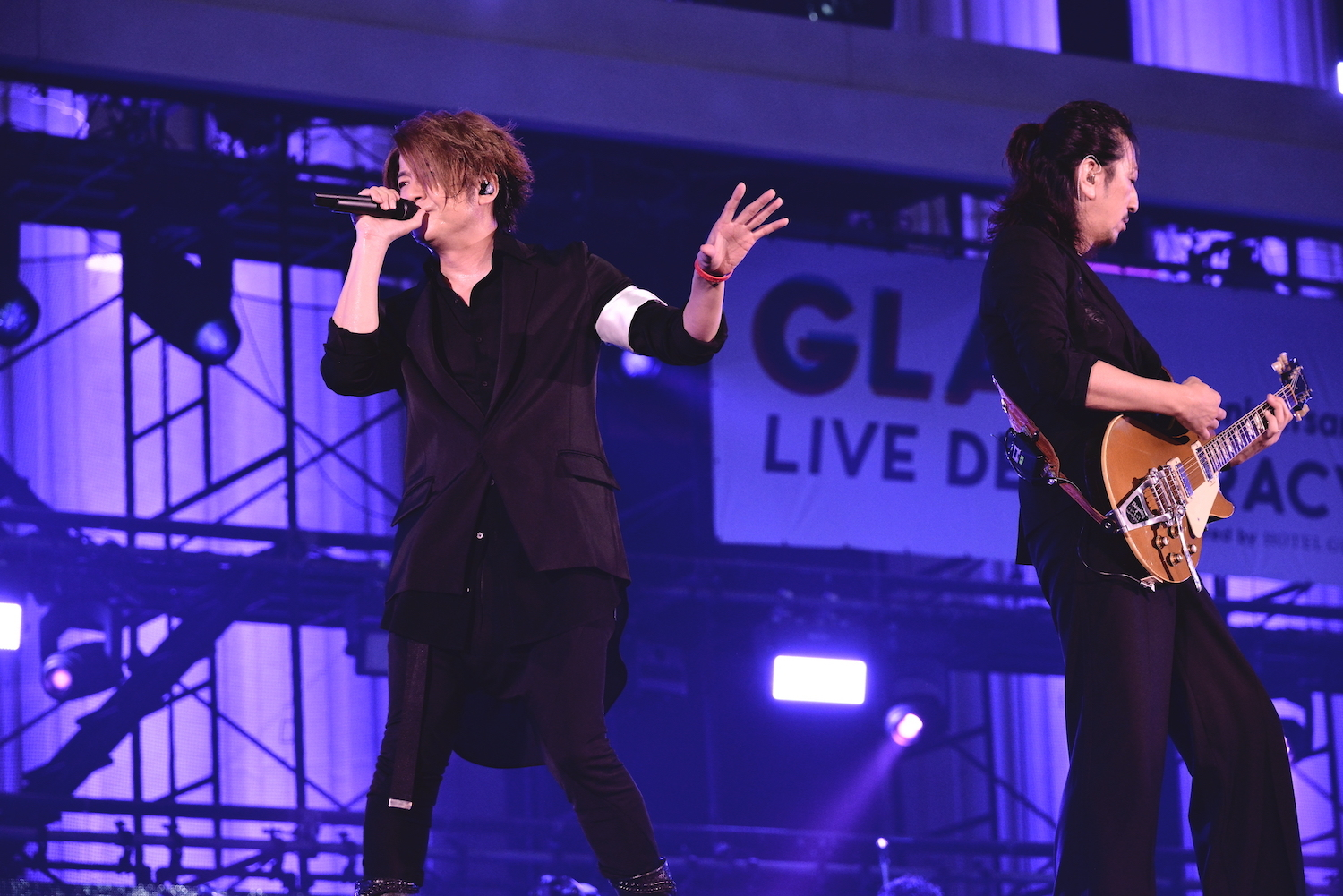 "GLAY 25th Anniversary""LIVE DEMOCRACY""悪いGLAY  撮影=橋本塁"