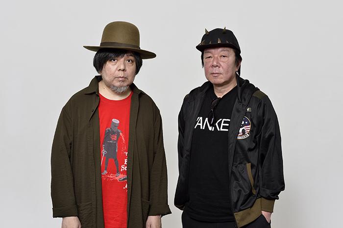 (左から)ケラリーノ・サンドロヴィッチ、古田新太(SPICE記事より) (撮影:荒川 潤)