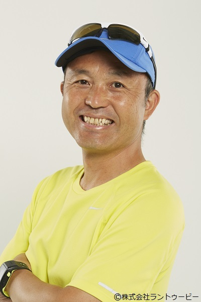 マラソン解説者でおなじみの金哲彦(プロランニングコーチ)がトークゲストとして登壇する