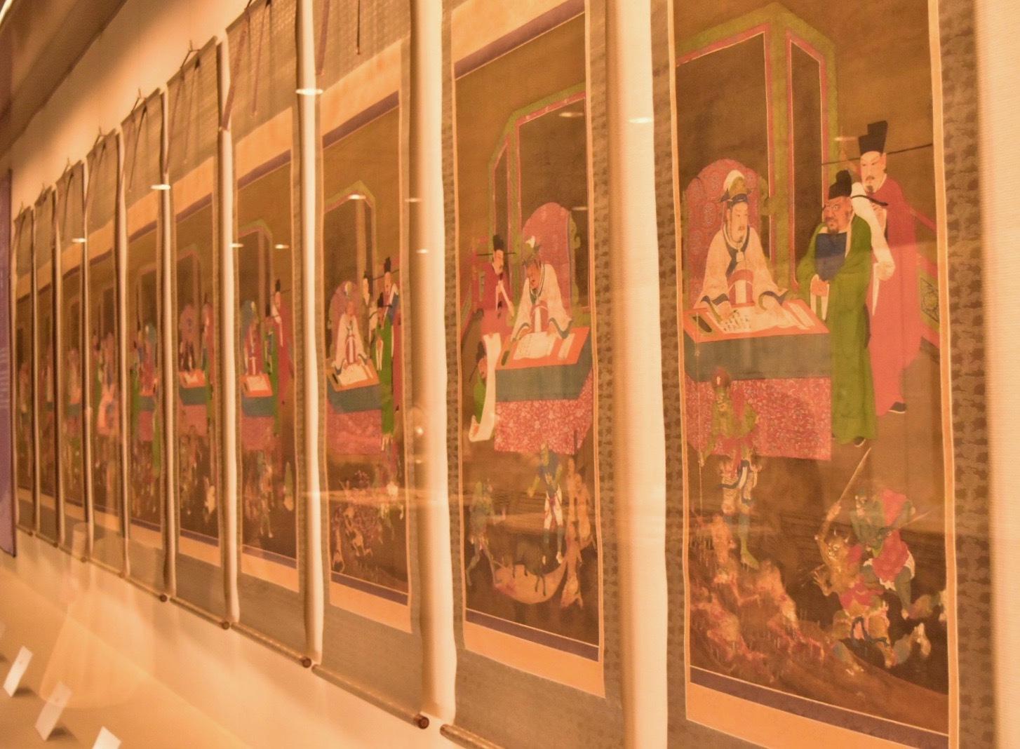 地蔵十王図 室町時代 龍谷大学・龍谷ミュージアム