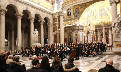 イタリア・ロッシーニ歌劇場管弦楽団による大震災復興支援コンサートが開催 WOWOWでも放送