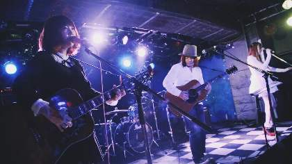 大森靖子が出産前最後に出演したライブ「生誕祭」の模様が到着