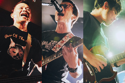 HUSKING BEE、向井秀徳アコースティック&エレクトリックを迎えた2マンライブを5月に開催