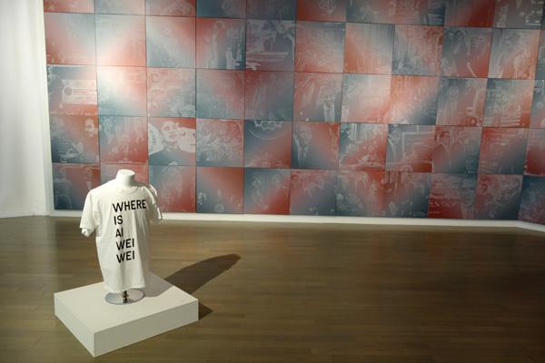 ロブ・プルイット《オバマ・ペインティング2009/1/20-2017/1/20》2009-2017  ヨコハマトリエンナーレ2017 展示風景